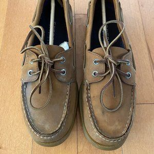 Men's Sperry Top Sider Original Tan Boat Shoe